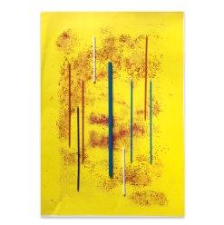 Entropie, 2021, Assemblage, 45,5 x 32 cm