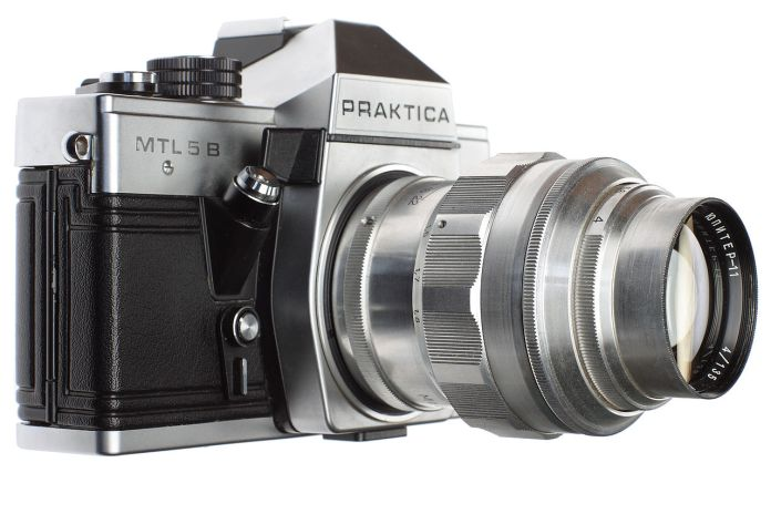 Praktica MTL 5B with Jupiter-11