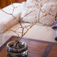 Zweige als Frühlings-Deko