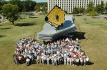 Maketa vesmírneho teleskopu Jamesa Webba