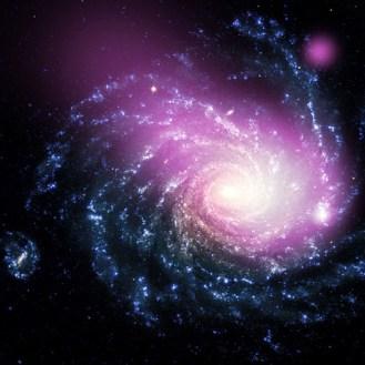 NGC 1232 - kompozitní snímek