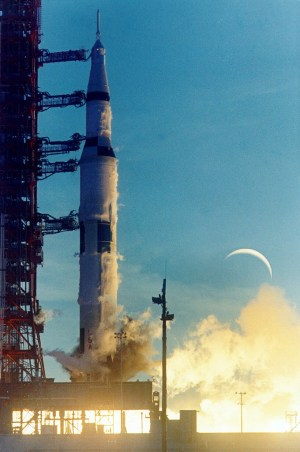 Start Saturnu V s kosmickou lodí Apollo 8