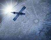 Excalibur Almaz u Měsíce (bohužel pouze v představách výtvarníka)