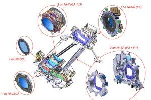 Konstrukce přístroje NISP není vůbec jednoduchá.