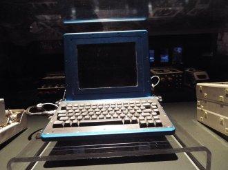 Notebook z dob letů raketoplánů