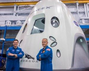Posádka mise SpaceX DM-2 - vlevo Robert Behnken, vpravo Douglas Hurley.