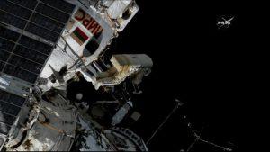 45. ruská EVA z ISS