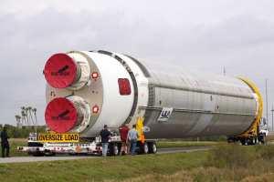 Testovací exemplář prvního stupně rakety Vulcan jednou poletí do kosmu - zatím ale má neletové raketové motory BE-4. K jejich výměně dojde až po dokončení testů.