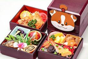 昼うかい食事付きプラン02-寅屋三段弁当