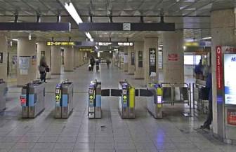 名古屋駅から伏見駅02-04-中央改札口