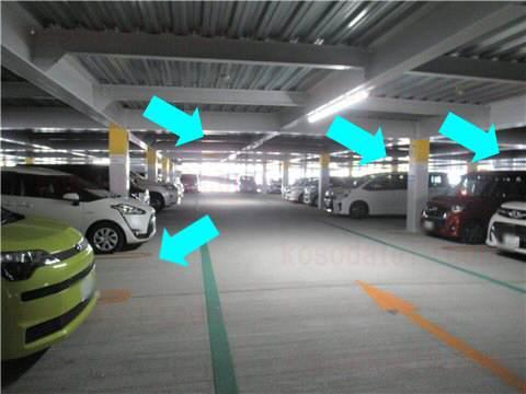ららぽーと愛知東郷駐車場混雑状況