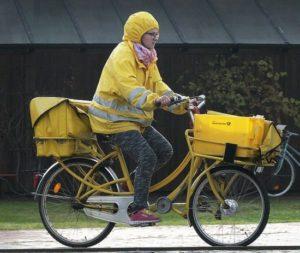 自転車 雨具 母