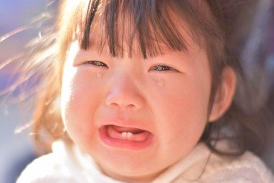 赤ちゃん 泣く 二歳児
