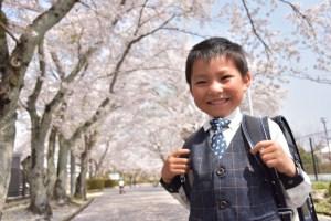 入学式 ランドセル 男の子