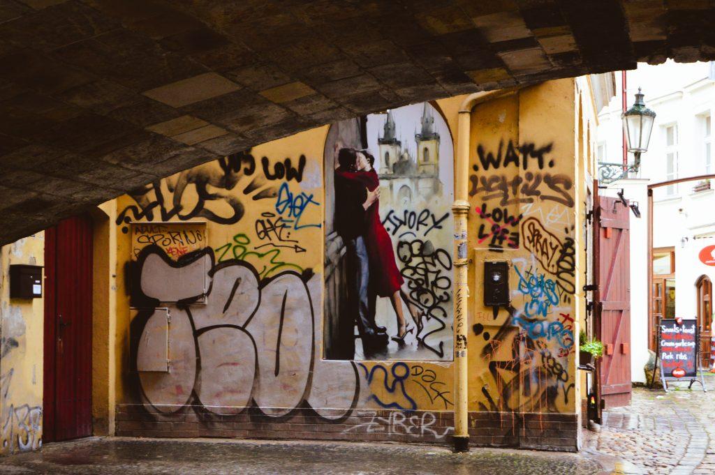 Street art, Prague
