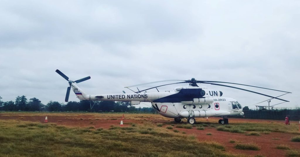UN flights, South Sudan