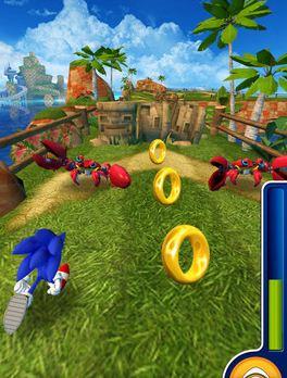 Wieder einmal rennt Sonic, was das Zeug hält