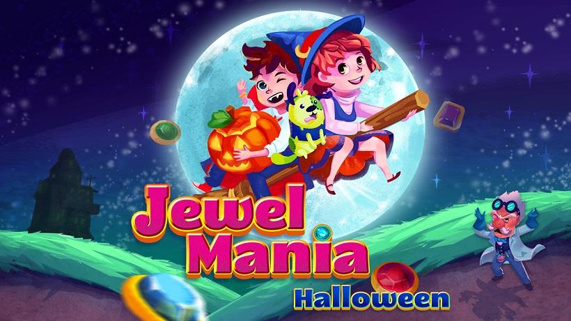 spooky jewel mania halloween kostenlose spiele apps. Black Bedroom Furniture Sets. Home Design Ideas