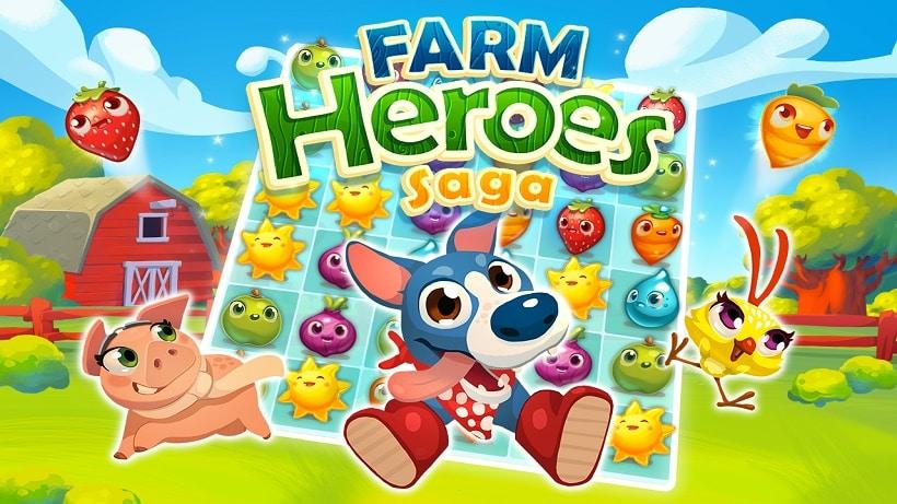 farm hero saga kostenlos spielen