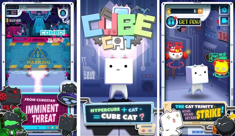 CubeCat nya-nya Strike