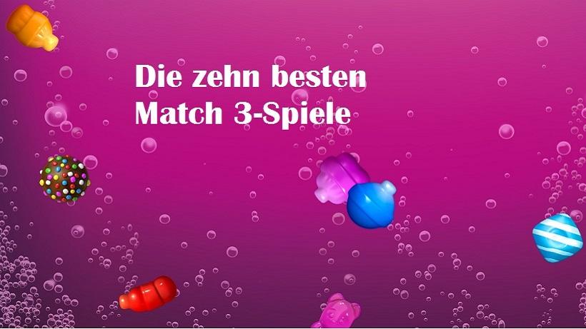 Match 3 Spiele