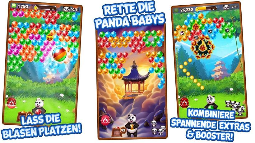 Panda Pop hat ein Update erhalten
