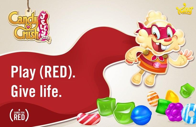 King unterstützt RED-Kampagne von Apple