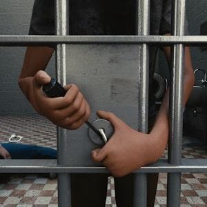 Eine Flucht aus dem Gefängnis