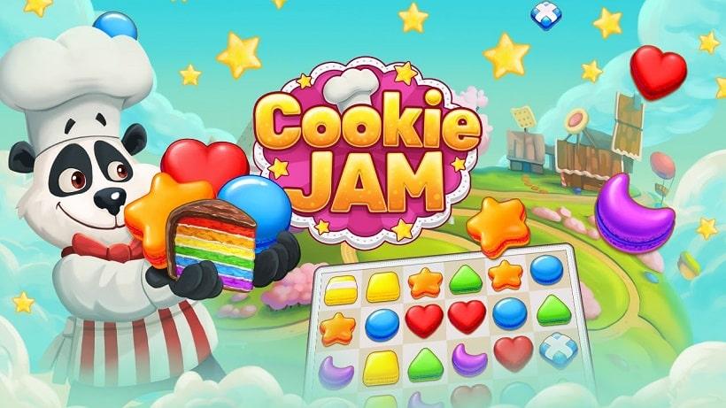 Cookie Jam hat jetzt über 1100 Levels  - lecker!
