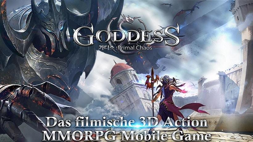 Goddess Primal Chaos ist ein geiles Rollenspiel