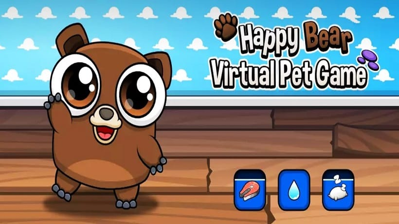 Happy Bear Virtual Pet Game