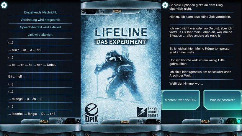 Lifeline Das Experiment