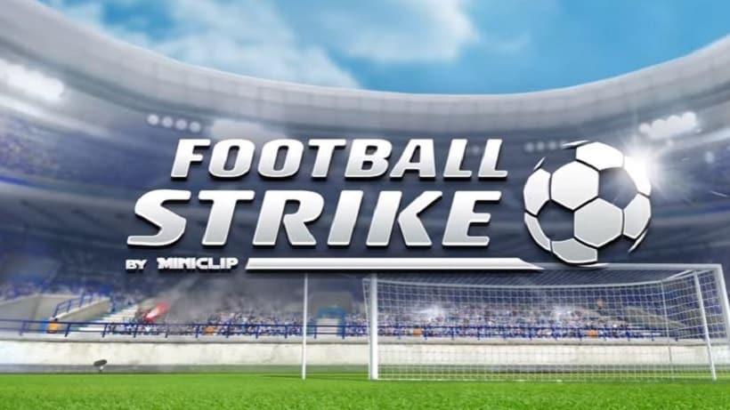 Schlenzt in Football Strike - Multiplayer Soccer wie CR7