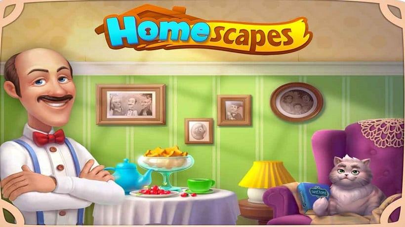 Homescapes hat ein großes Update erhalten