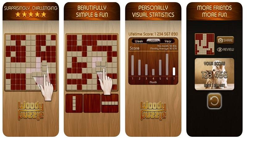 Ein absoluter Süchtigmacher: Woody Puzzle!