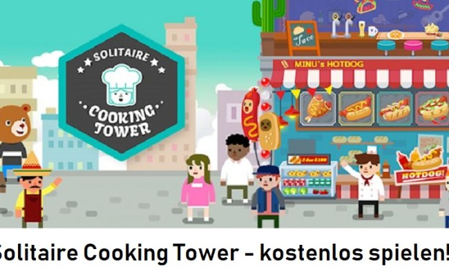Solitaire Cooking Tower
