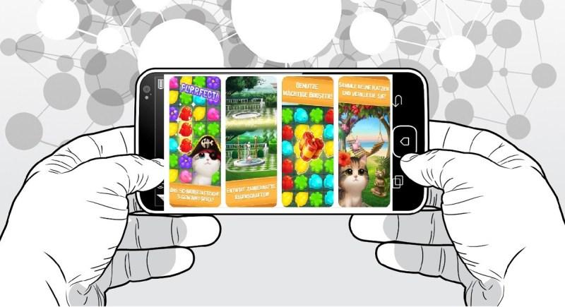 Kostenlose Spiele-Apps