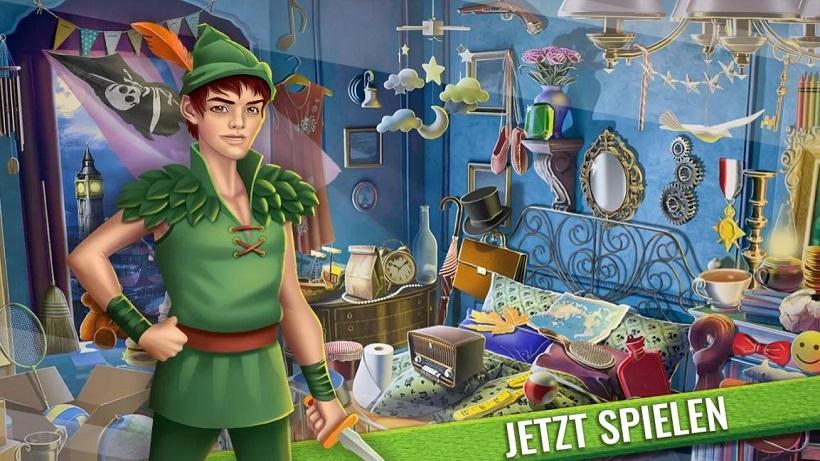 Das magische Abenteuer von Peter Pan