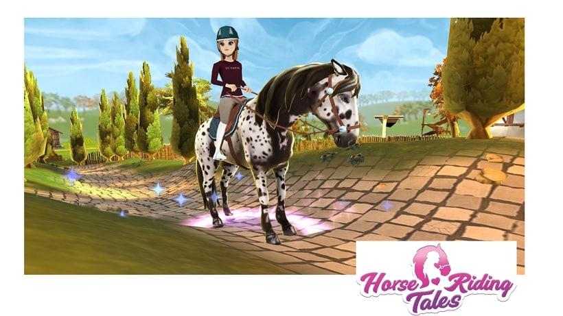 Horse Riding Tales: Springt und reitet mit Freunden