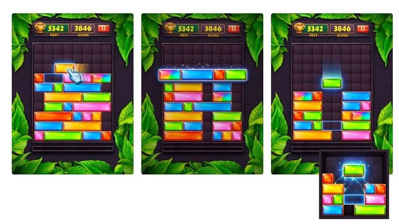 Jewel Blast - Block Drop Puzzle Game