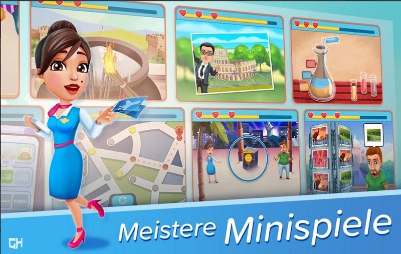 Amber's Airline - 7 Wonders bietet euch viele Minispiele, die nicht alle einfach sind