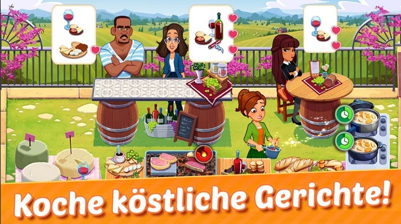 Delicious World - Kochspiel