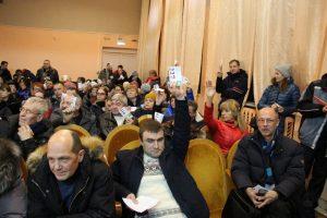 Голосование клакеров по полигону ТКО в Кузьмищах
