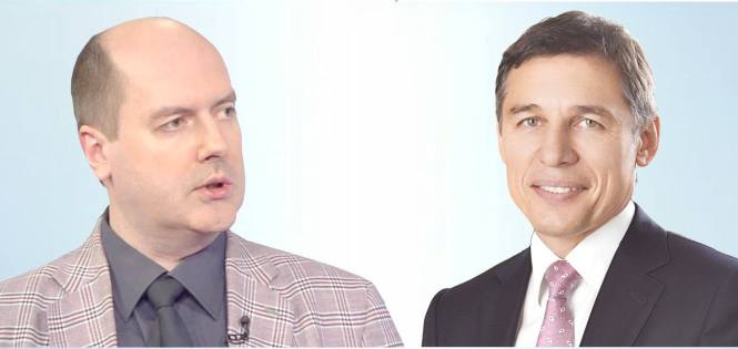 Сергей Жаворонков и Владимир Михайлов