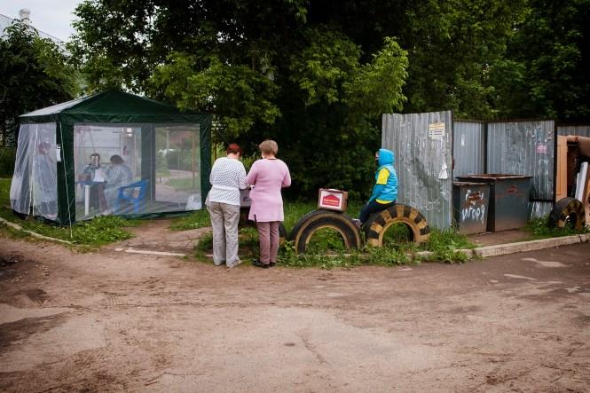 Голосование по Конституции в Костроме 2020 Фото Алексея Молоторенко