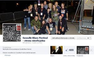 Strona facebook Suwałki Blues Festival