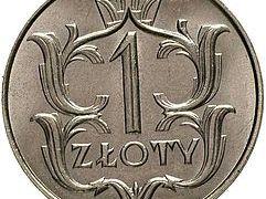 1 zł z 1929 roku. Zdjęcie monety