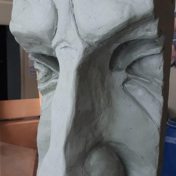 Скульптура «Давид» Микеланджело. Нос.