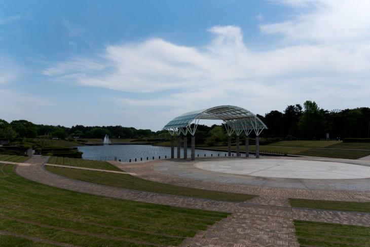 ひたち海浜公園水のステージ