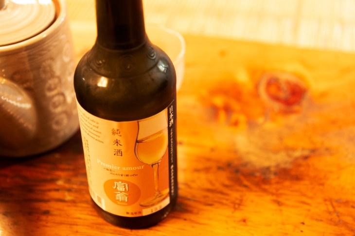 駒形どぜう 日本酒 富翁 純米酒 Premier amour
